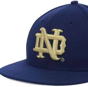 Notre Dame 7 3/8 Fitted On-Field Baseball Hat, NEW